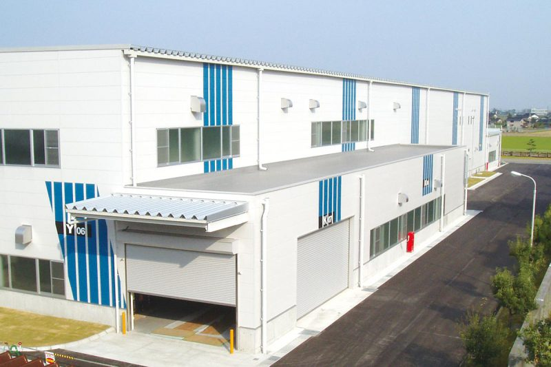 YKK新梱包ライン工場